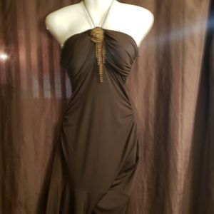 NWT brown dress